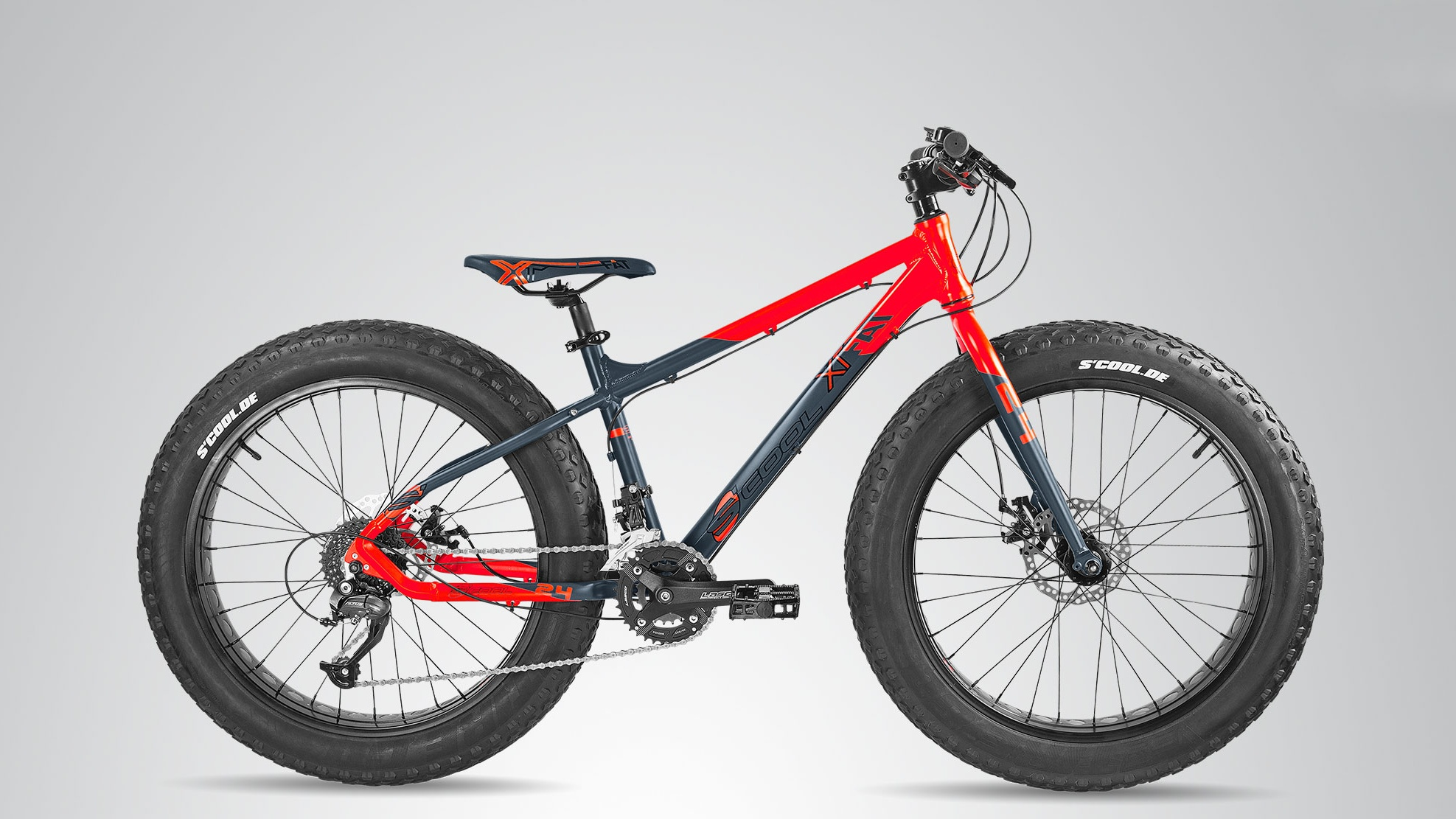 FAT Bike S'cool XT fat 24 Cropped